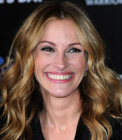 Julia Roberts NO toothpast smile