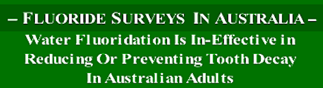 Aust. Dental Survey heading f