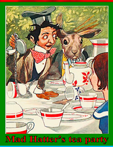 Mad Hatter's tea party f