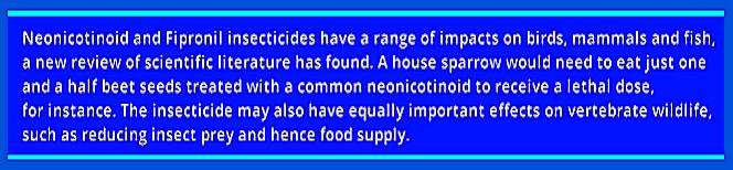 Neonicotinoid & Fipronil TALL