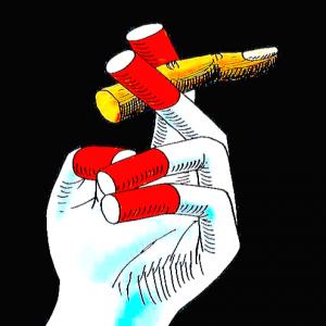 smokers-hand