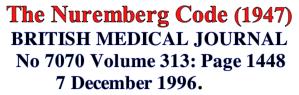 Nuremberg-code