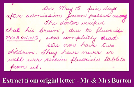 Extract Burton letter f