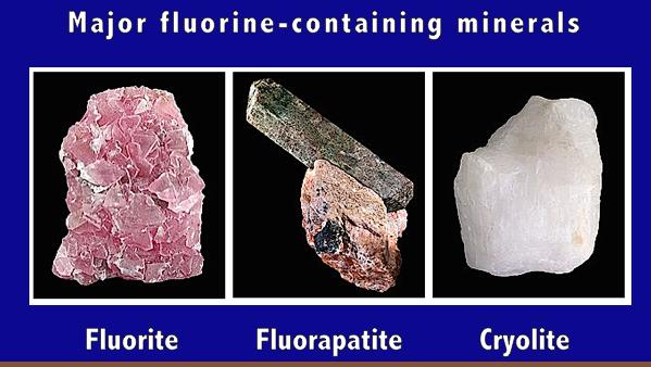 major-f-minerals