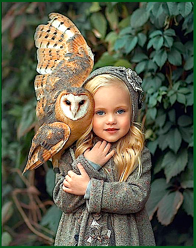 small-girl-in-gray-with-owl-f